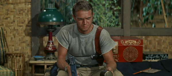 Steve McQueen in Never So Few (Photo: Warner)
