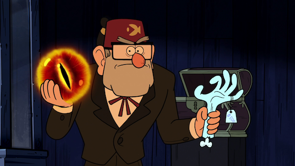 Grunkle Stan in Gravity Falls (Photo: Shout! Factory)