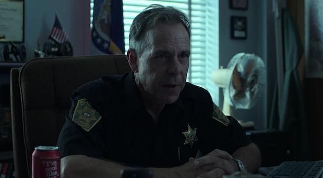 Rob Treveiler in a scene from the dark crime drama 'Ozark'