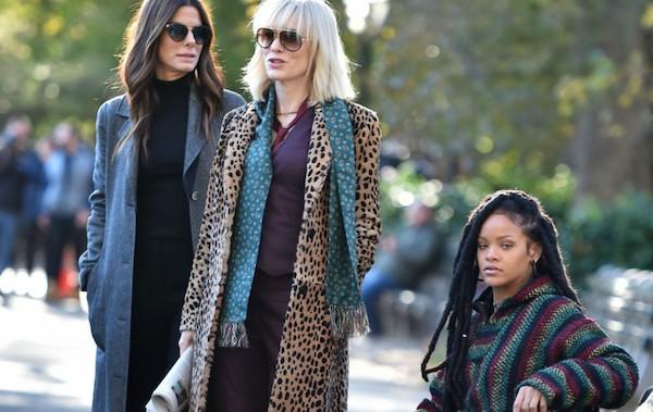 Sandra Bullock, Cate Blanchett and Rihanna in Ocean's 8 (Photo: Warner)
