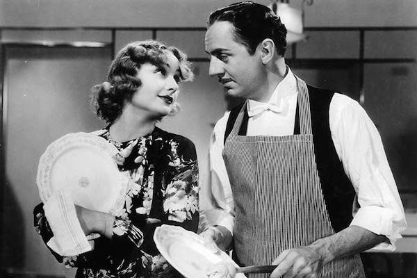 Carole Lombard and William Powell in My Man Godfrey (Photo: Criterion)