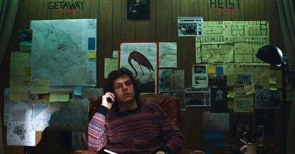 Evan Peters in American Animals (Photo: Lionsgate)