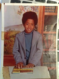 Platt as a child in elementary school.