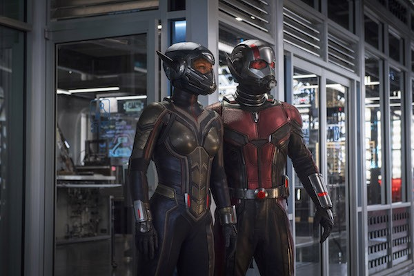 Evangeline Lilly and Paul Rudd in Ant-Man and the Wasp (Photo: Marvel)