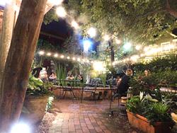 The Dilworth Tasting Room patio (Photo by Dana Vindigni)
