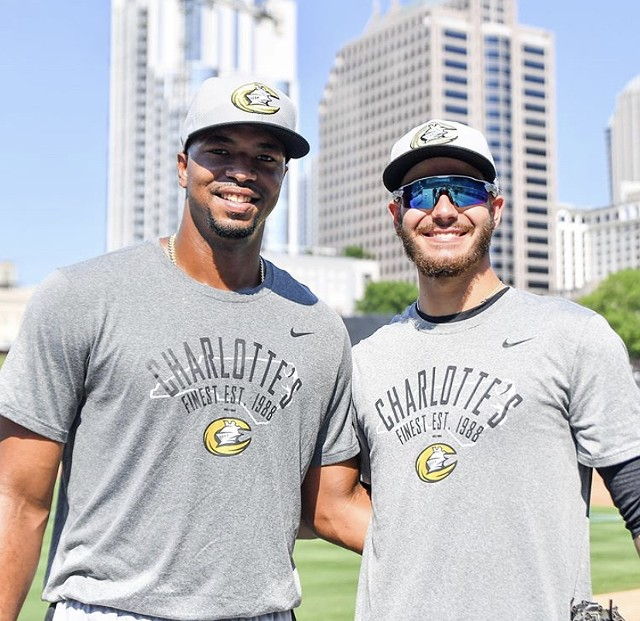Eloy Jiménez (left) and Dylan Cease (right) - LAURA WOLFF PHOTOGRAPHY