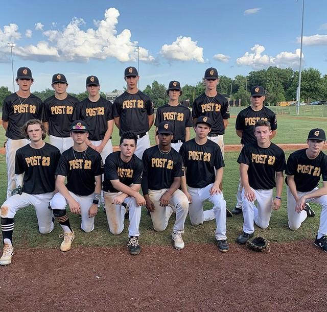 Gastonia Post 23 Junior Legion Baseball Team