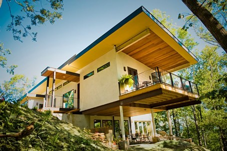 OUR NATIONS FIRST HEMPCRETE HOME WAS BUILT IN ASHEVILLE, NORTH CAROLINA