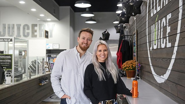 Clean Juice® Founders, Landon & Kat Eckles