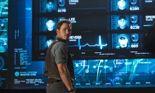 Chris Pratt in Jurassic World (Photo: Universal)
