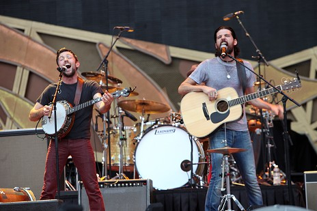 The Avett Brothers - PHOTO BY JEFF HAHNE