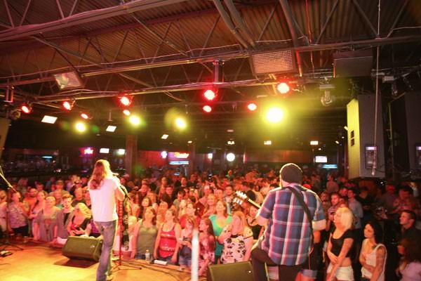Jason Michael Carrol performs at Bootlegger's on June 21.