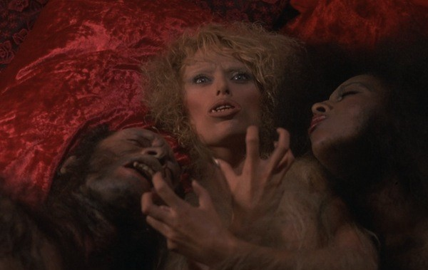 Sybil Danning (center) in Howling II: Your Sister Is a Werewolf (Photo: Shout! Factory)