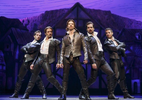 Something Rotten!. (Photo credit: Joan Marcus)