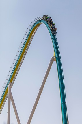 Fury 325's first drop.