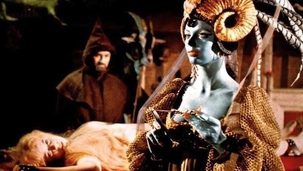 Barbara Steele (right) in The Crimson Cult (Photo: Kino)