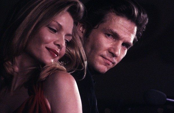 Michelle Pfeiffer and Jeff Bridges in The Fabulous Baker Boys (Photo: Twilight Time)