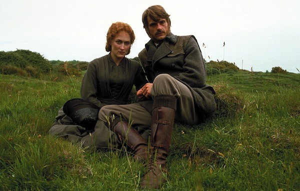Meryl Streep and Jeremy Irons in The French Lieutenant's Woman (Photo: Criterion)