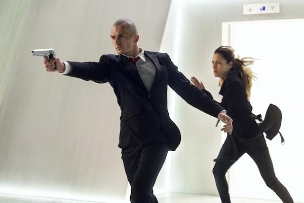 Rupert Friend and Hannah Ware in Hitman: Agent 47 (Photo: Fox)