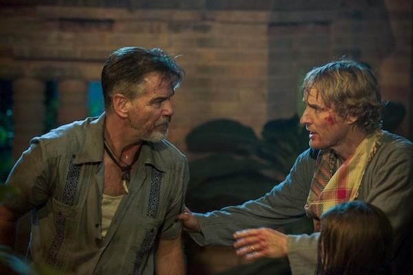 Pierce Brosnan and Owen Wilson in No Escape (Photo: Weinstein Co.)