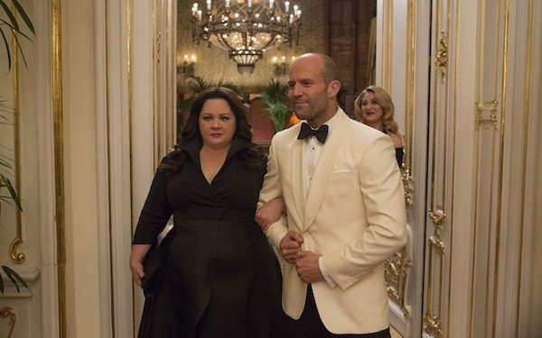 Melissa McCarthy and Jason Statham in Spy (Photo: Fox)