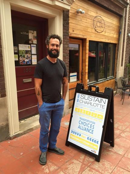 Jordan Moore (Photo courtesy of Sustain Charlotte)