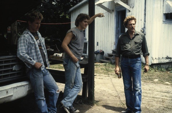 Sean Penn, Christopher Penn and Christopher Walken in At Close Range (Photo: Twilight Time)