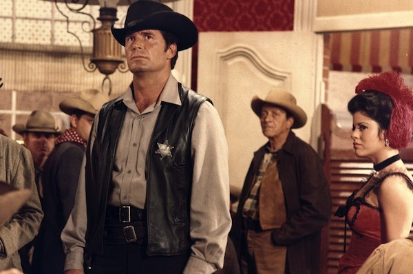 James Garner in Support Your Local Sheriff! (Photo: Kino)