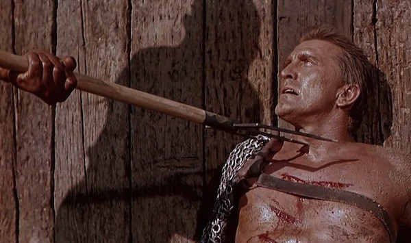 Kirk Douglas in Spartacus (Photo: Universal)