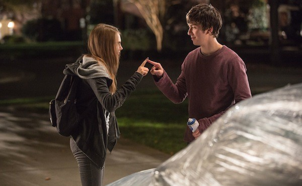 Cara Delevingne and Nat Wolff in Paper Towns (Photo: Fox)