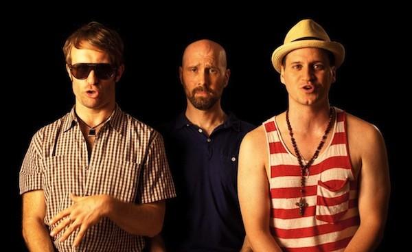 David Thorpe (middle) in Do I Sound Gay? (Photo: Sundance Selects)