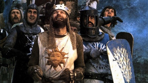 The lads in Monty Python and the Holy Grail (Photo: Sony)