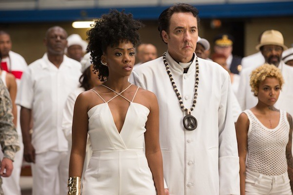 Teyonah Parris and John Cusack in Chi-raq (Photo: Roadside Attractions)