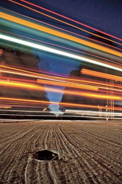 """Josh Cannon's """"Train-Tracked"""""""
