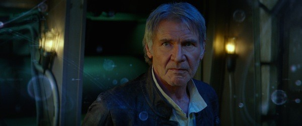 Harrison Ford in Star Wars: The Force Awakens (Photo: Disney)