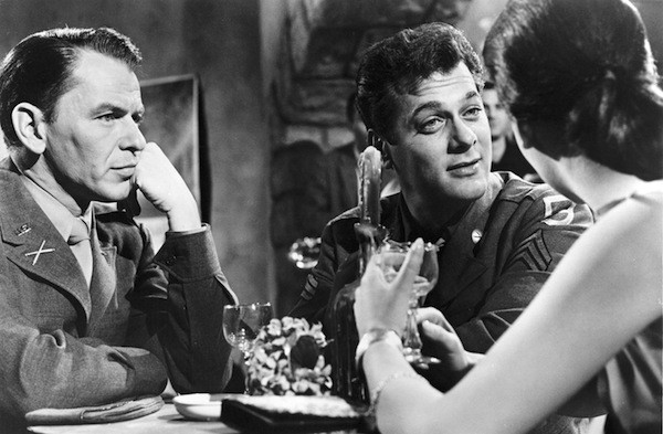 Frank Sinatra, Tony Curtis and Natalie Wood in Kings Go Forth (Photo: Twilight Time)