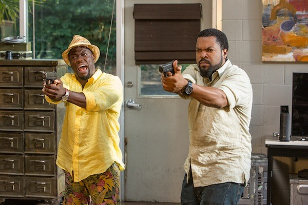 Kevin Hart and Ice Cube in Ride Along 2 (Photo: Universal)