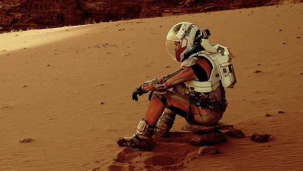 Matt Damon in The Martian (Photo: Fox)