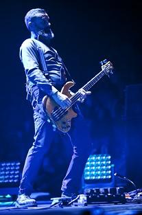 Tool bassist Justin Chancellor