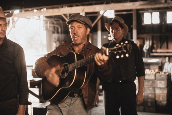 David Carradine in Bound for Glory (Photo: Twilight Time)