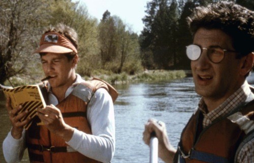 Tim Matheson and Sandy Helberg in Up the Creek (Photo: Kino)