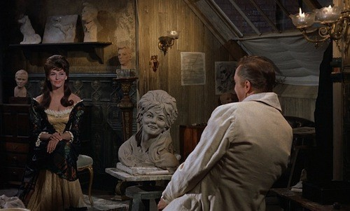 Nancy Kovack and Price in Diary of a Madman (Photo: Shout! Factory)
