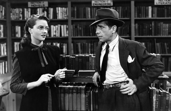 Dorothy Malone and Humphrey Bogart in The Big Sleep (Photo: Warner Bros.)