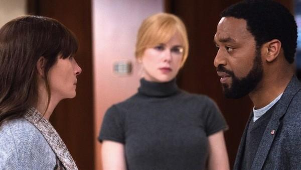 Julia Roberts, Nicole Kidman and Chiwetel Ejiofor in Secret in Their Eyes (Photo: Universal & STX)