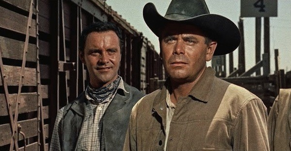 Jack Lemmon and Glenn Ford in Cowboy (Photo: Twilight Time)