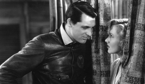 Cary Grant and Jean Arthur in Only Angels Have Wings (Photo: Criterion)