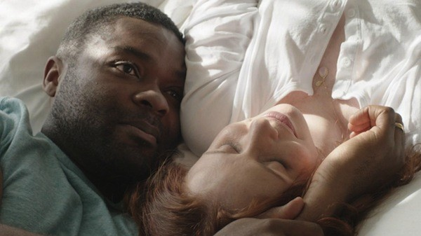 David Oyelowo and Hani Furstenberg in Five Nights in Maine (Photo: FilmRise)
