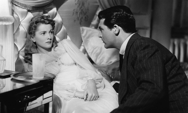 Joan Fontaine and Cary Grant in Suspicion. (Photo: Warner Bros.)