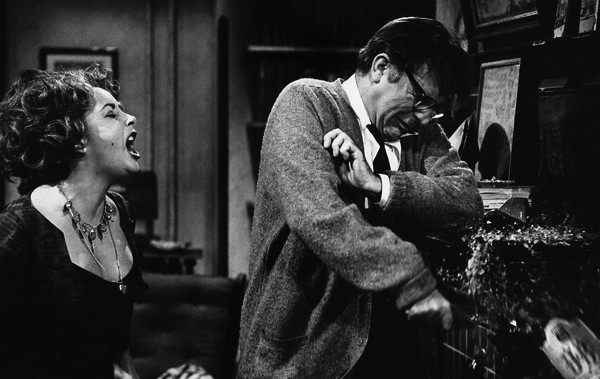 Elizabeth Taylor and Richard Burton in Who's Afraid of Virginia Woolf? (Photo: Warner)