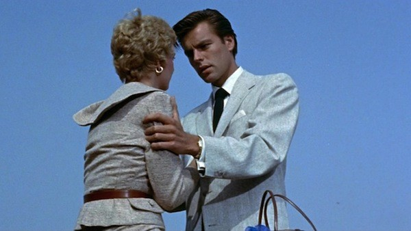 Joanne Woodward and Robert Wagner in A Kiss Before Dying (Photo: Kino)
